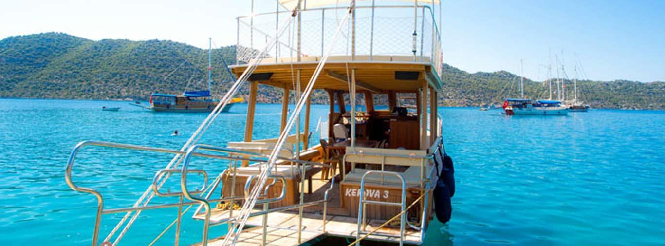 Üçağız Tekne Turu